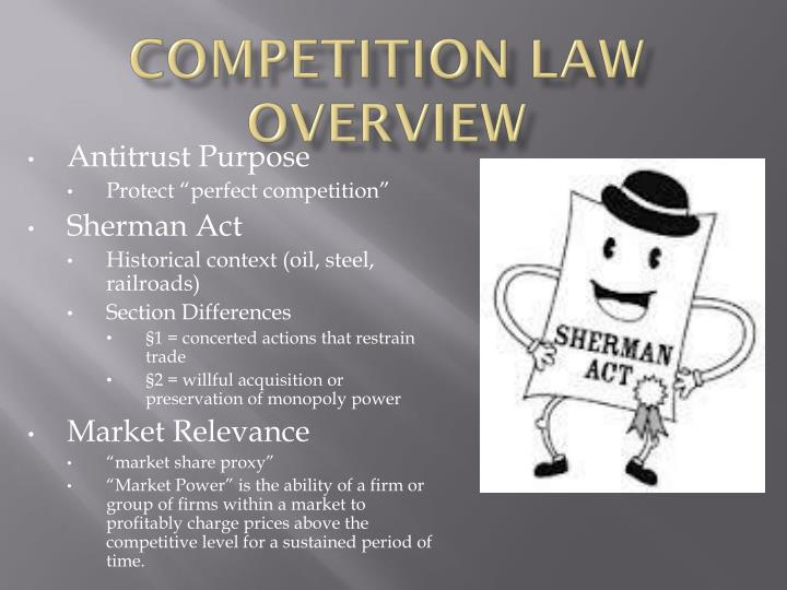 Competition law overview