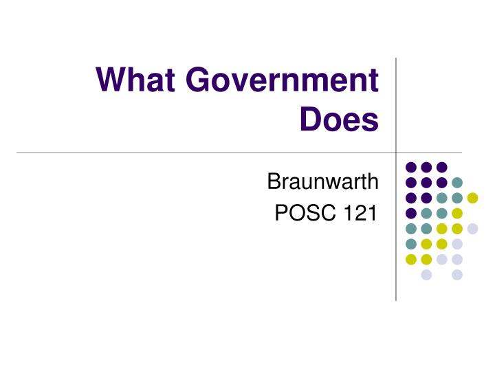 what government does n.