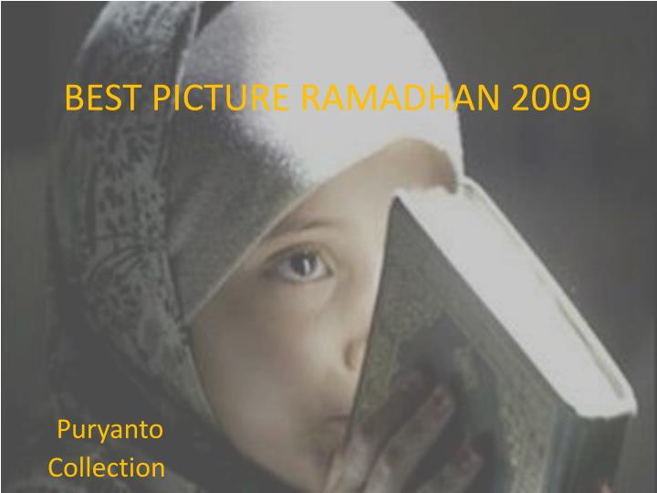 Best picture ramadhan 2009
