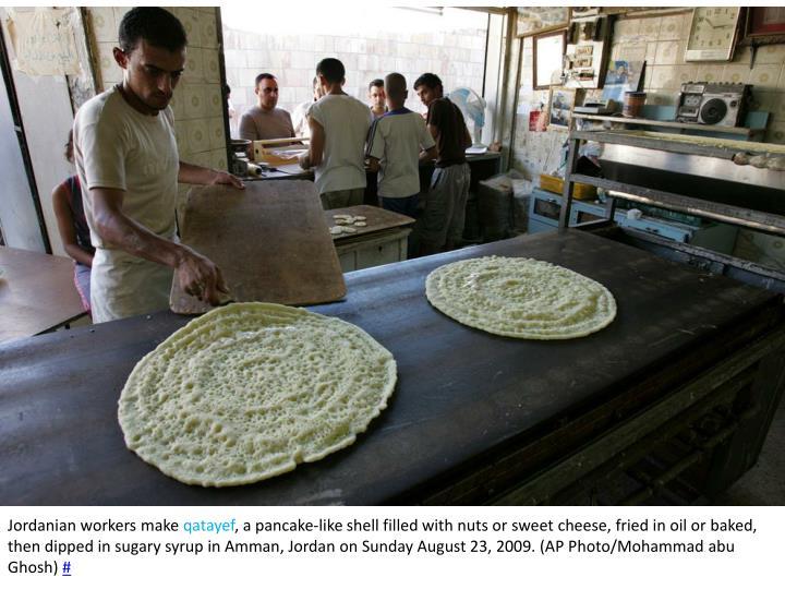 Jordanian workers make
