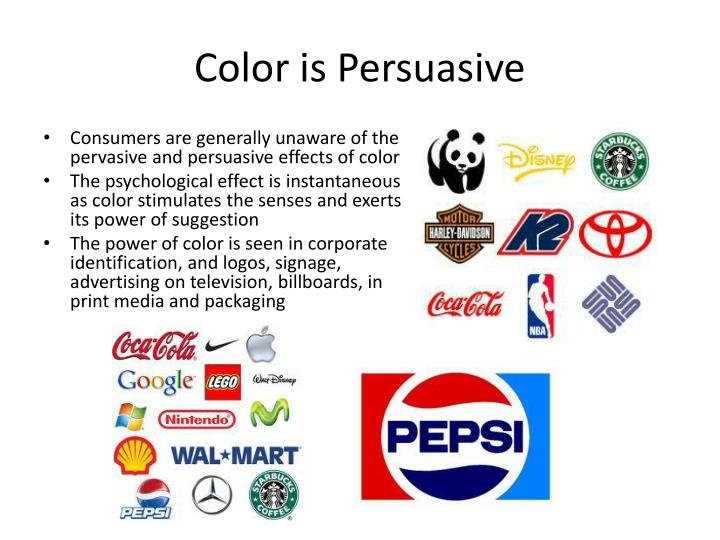 Color is Persuasive