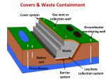 covers waste containment