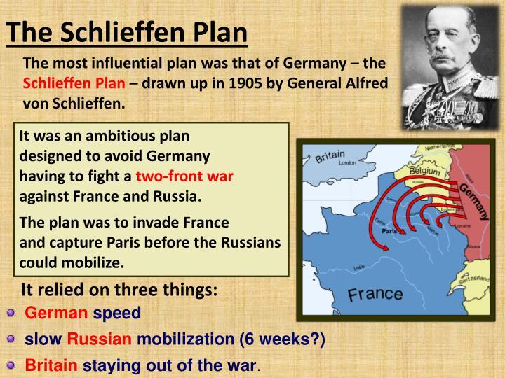 ppt why did the schlieffen plan fail powerpoint presentation id 2010581