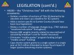 legislation cont d3