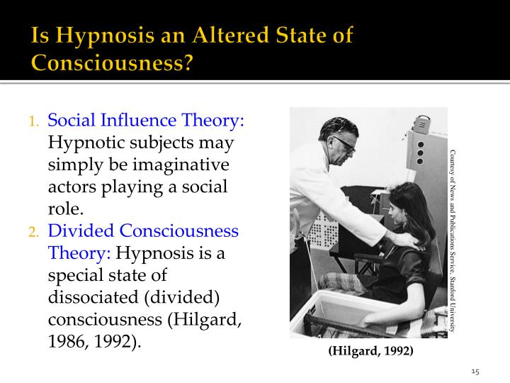 Is Hypnosis an Altered State of Consciousness?
