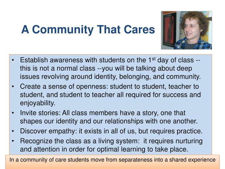 A Community That Cares