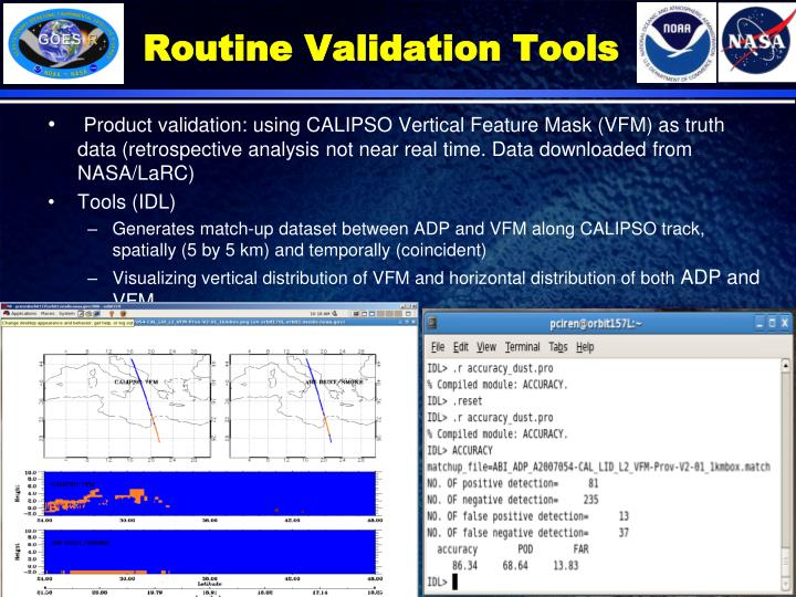 Routine Validation Tools
