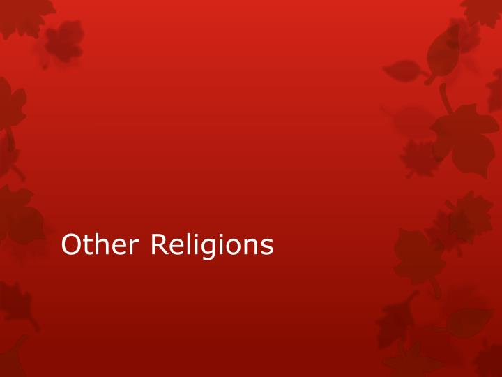 other religions n.