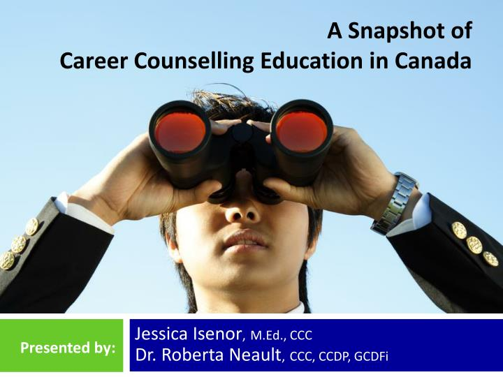 a snapshot of career counselling education in canada n.