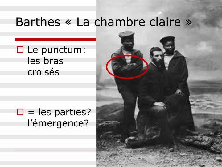 Ppt puissance de circulation des attributs d une photo sur flickr powerpoint presentation id - Barthes la chambre claire ...