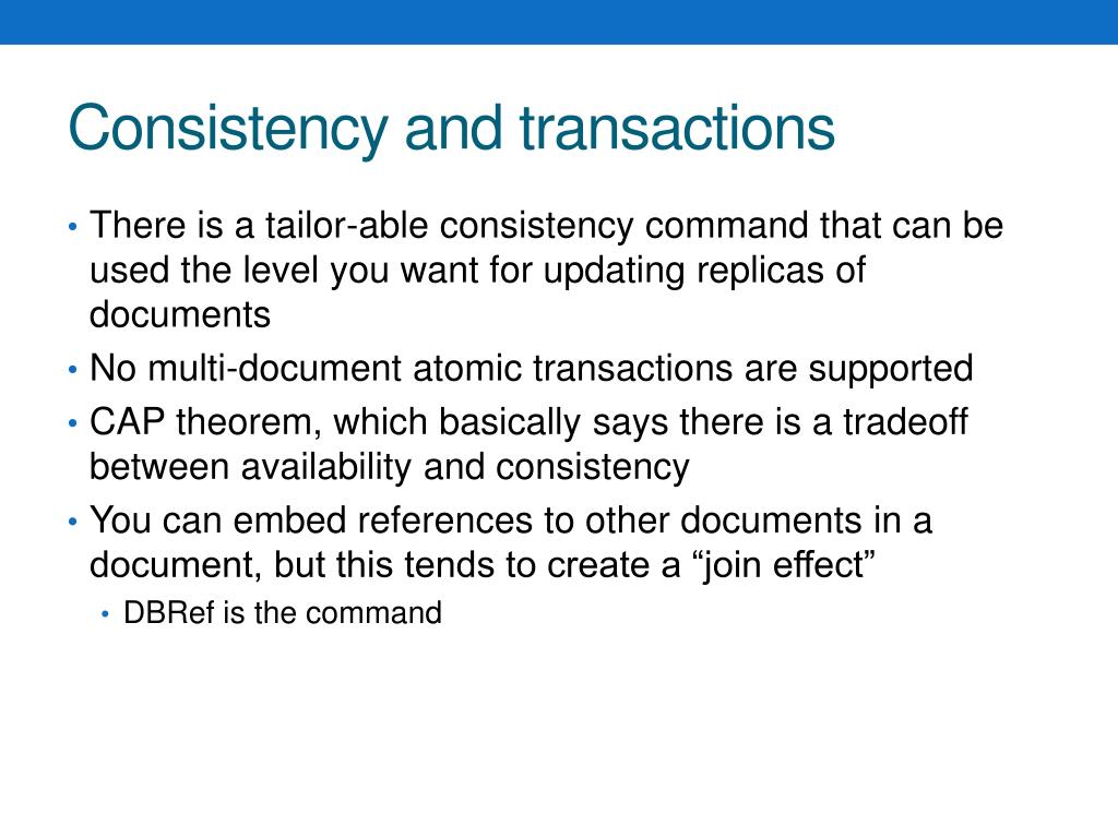 PPT - NoSql databases PowerPoint Presentation - ID:2011644