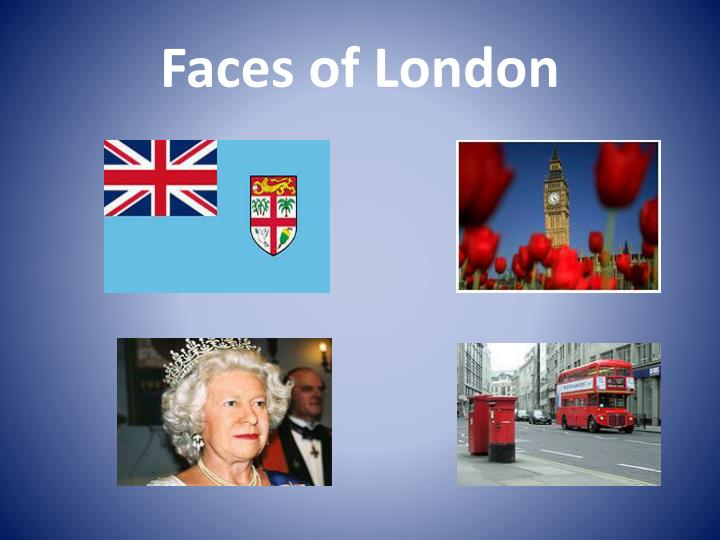 faces of london n.