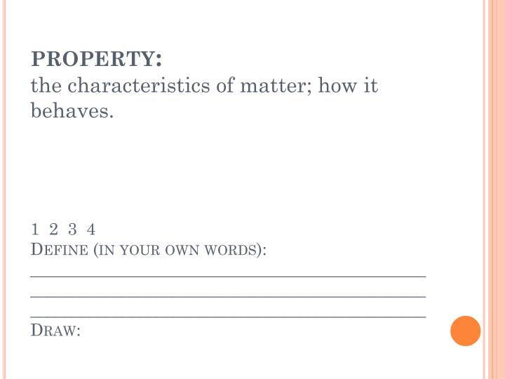 property:
