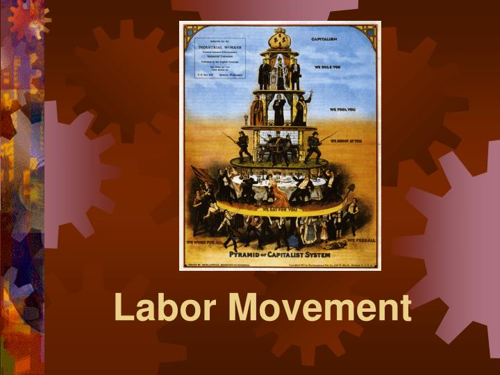 labor movement n.