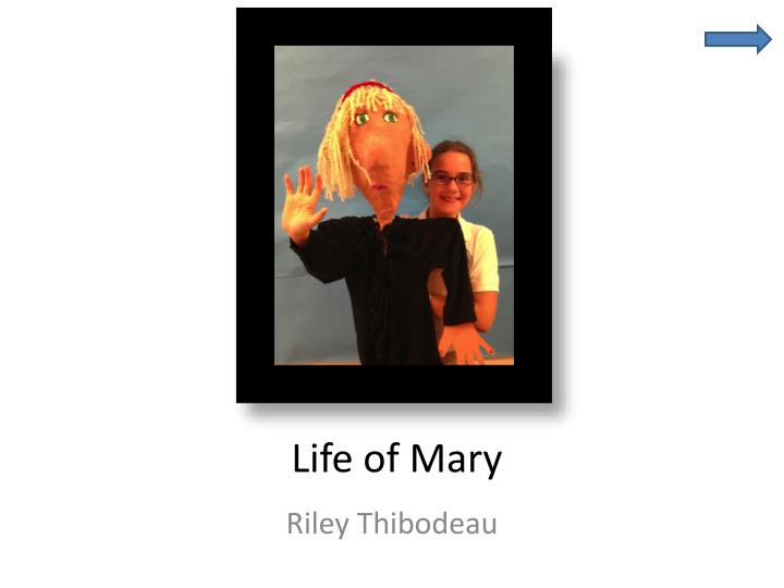life of mary n.