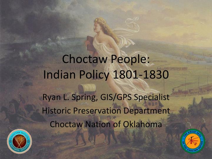 choctaw people indian policy 1801 1830 n.
