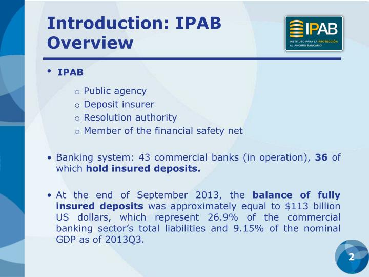 Introduction ipab overview