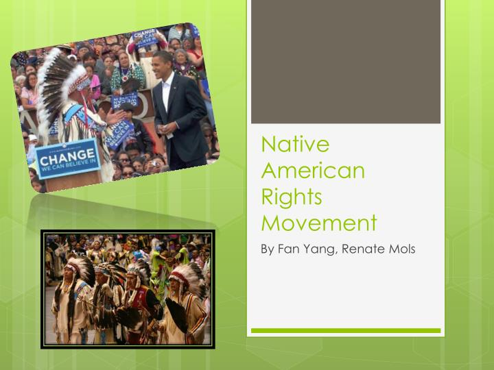 native american rights movement n.