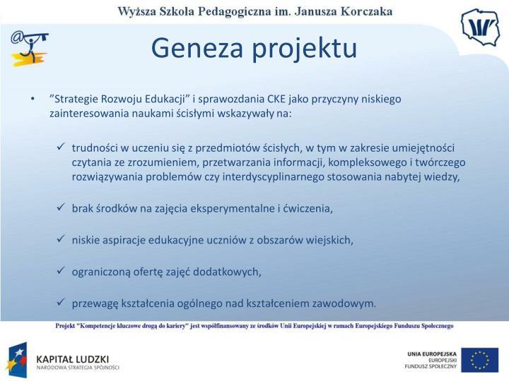 Geneza projektu1