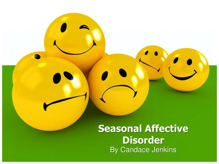seasonal affective disorder n.