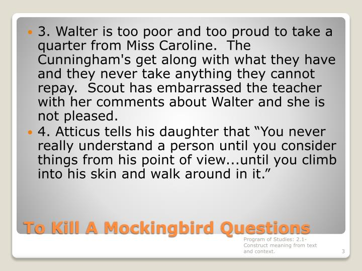 To kill a mockingbird questions1
