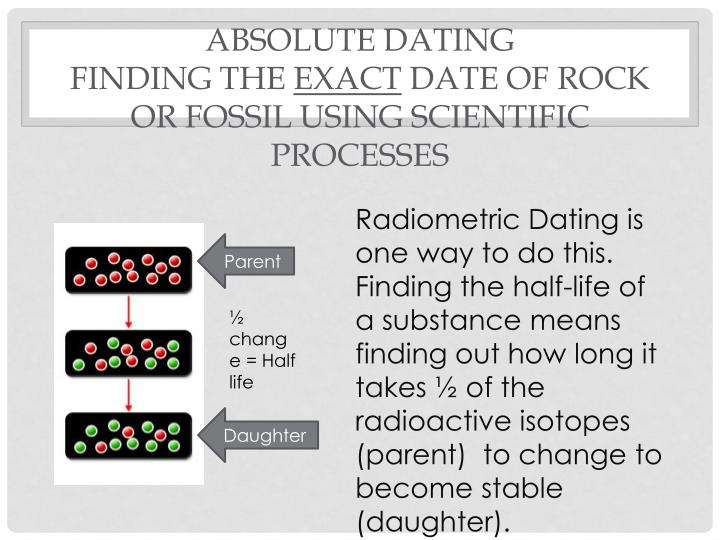 dating of fossils ppt Dating fossils and methods used by  main methods of dating fossils radiocarbon dating dating fossils using   .