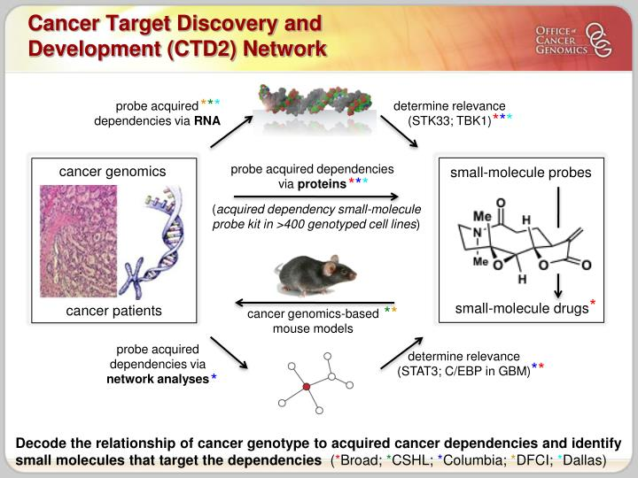 Cancer Target Discovery and Development (CTD2) Network
