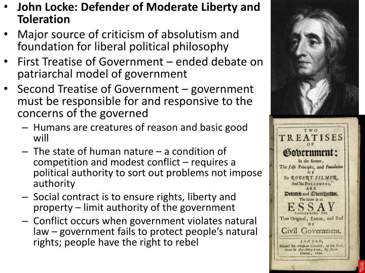 john locke political essays Online library of liberty right from the beginning of the essay, locke places the right to the theory of private property in john locke's political.
