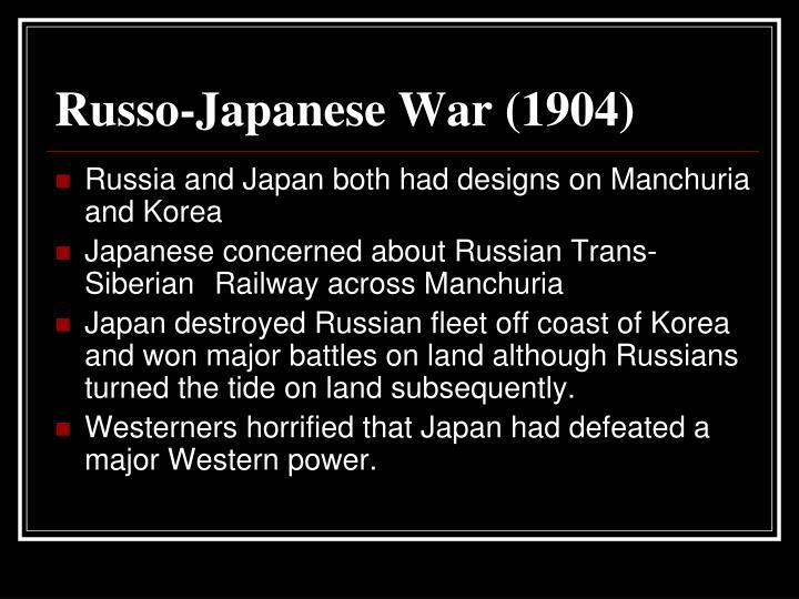 Russo-Japanese War (1904)