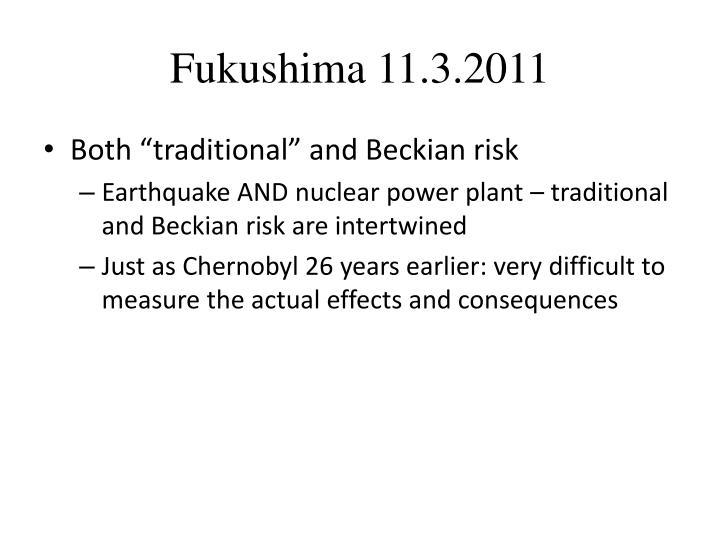 Fukushima 11.3.2011