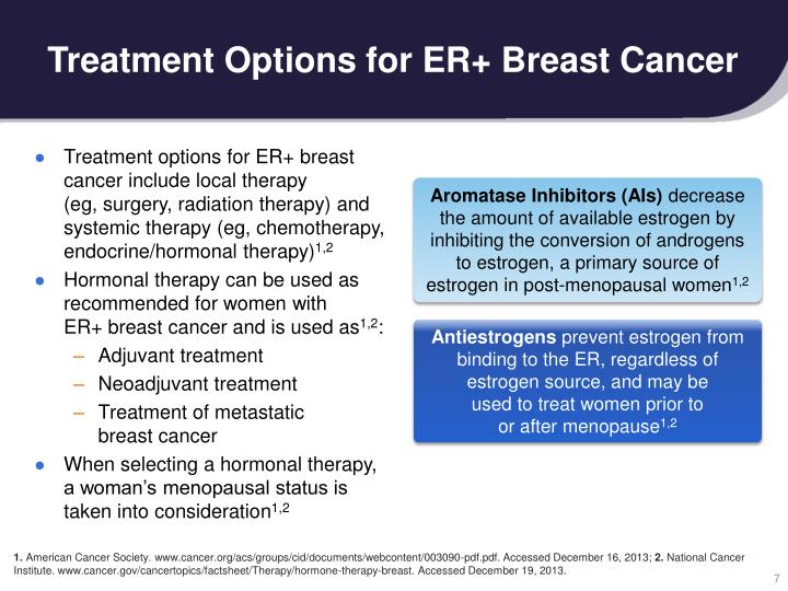 Ppt the role of cdk46 in breast cancer powerpoint presentation treatment options for er breast cancer toneelgroepblik Gallery
