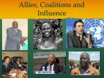 allies coalitions and influence