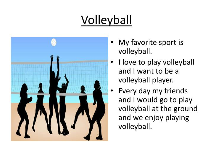 volleyball my hobby It's been the perfect little hobby at this stage in my life for many reasons  and  the volleyball leagues i used to play in start before the last feed.