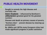 public health movement