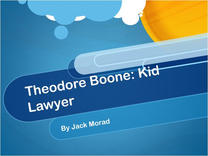theodore boone kid lawyer n.