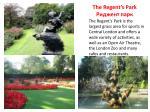 the regent s park
