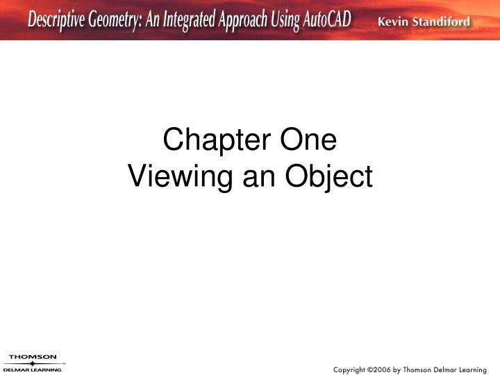 chapter one viewing an object n.