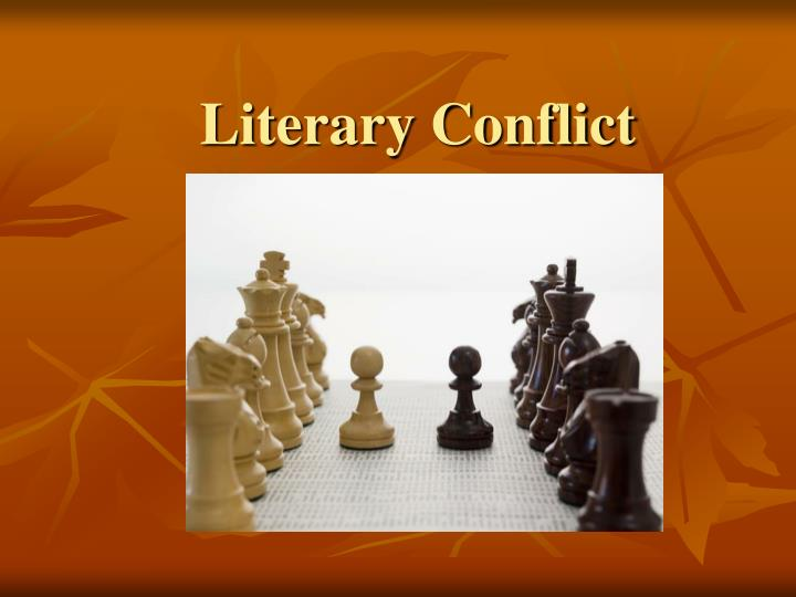 literary conflict n.