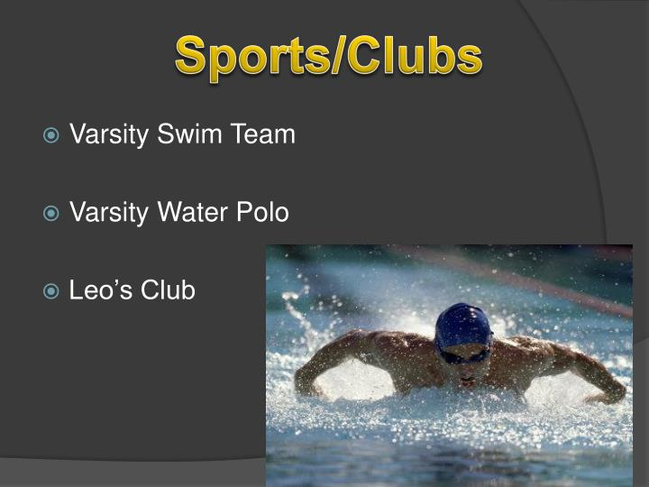 Sports/Clubs