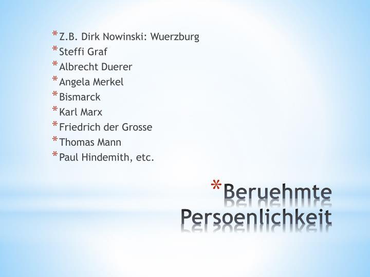 Z.B. Dirk