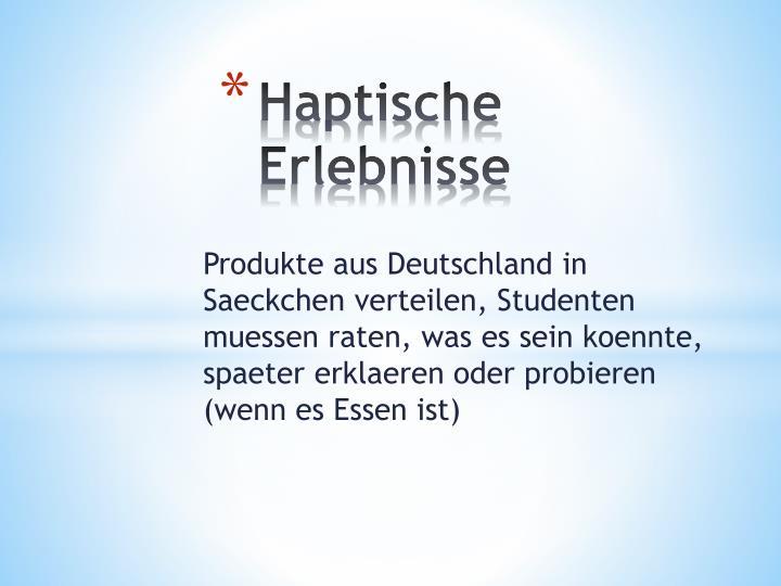 Haptische