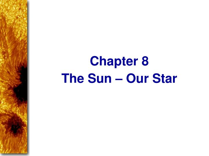 the sun our star n.