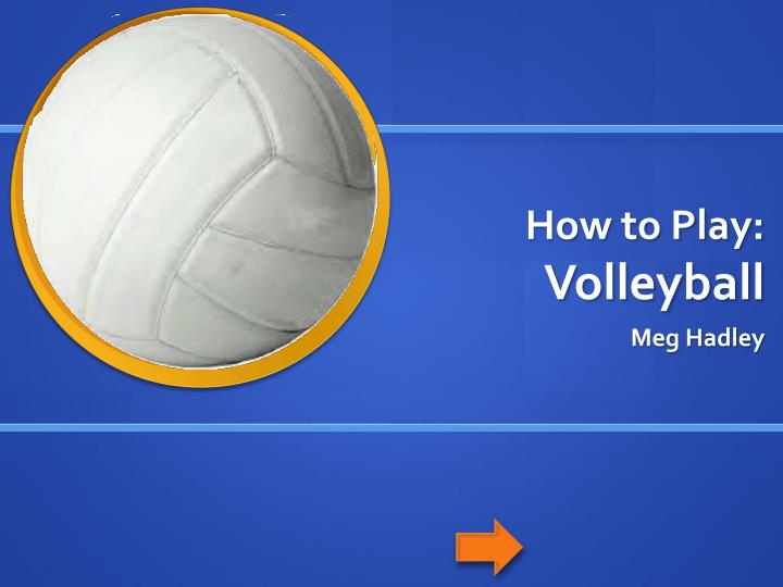how to play volleyball Free 2-day shipping on qualified orders over $35 buy wilson soft play volleyball at walmartcom.