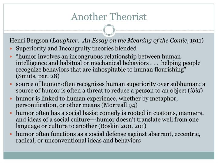 Another Theorist