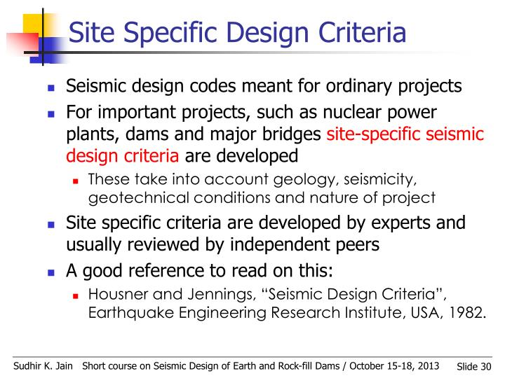 Site Specific Design