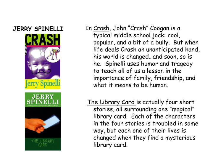 loser book report jerry spinelli Book review of loser by jerry spinelli veryberry: who hates book reports im just looking everything online that i can find about this book then making a mobile lol hate book reports.