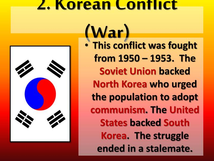2 korean conflict war