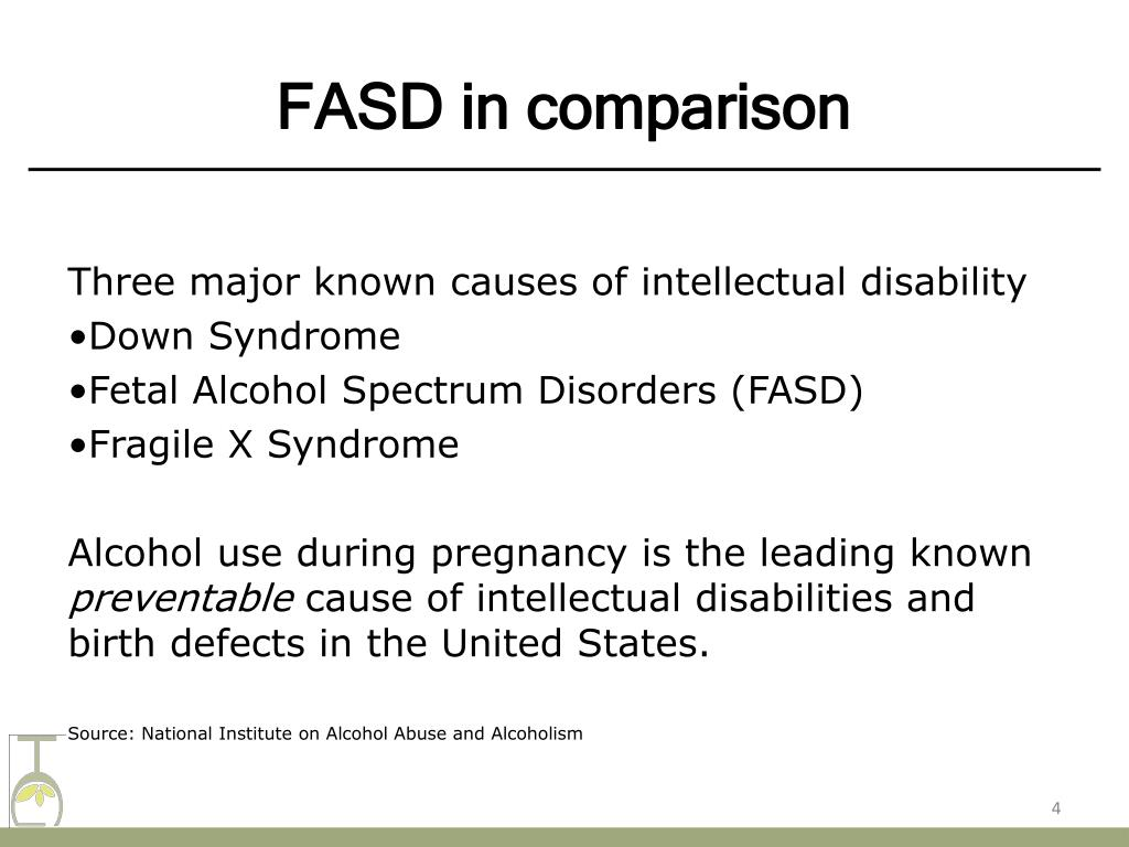 Ppt Fetal Alcohol Spectrum Disorders Fasd Powerpoint