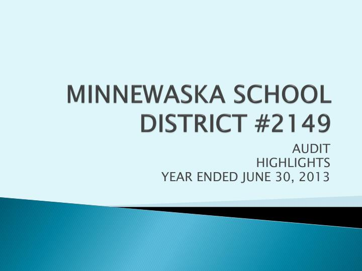 minnewaska school district 2149 n.