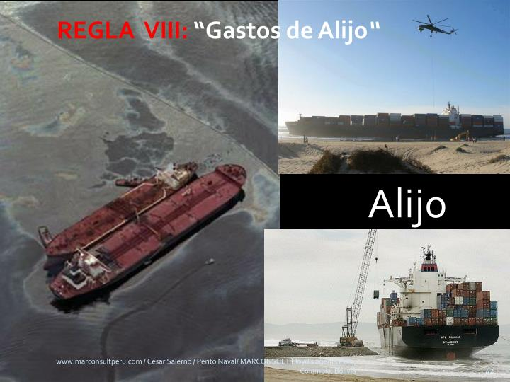 REGLA  VIII: